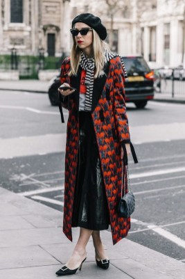 Stunning Winter Outfits Ideas With Skirts16