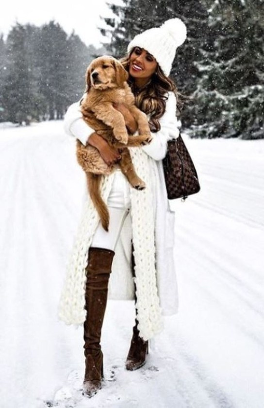 Stylish Winter Clothes Ideas For Women44