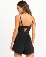 Adorable Black Romper Outfit Ideas18
