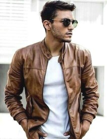 Affordable Leather Jacket Outfit Ideas14
