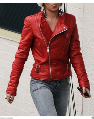 Affordable Leather Jacket Outfit Ideas16