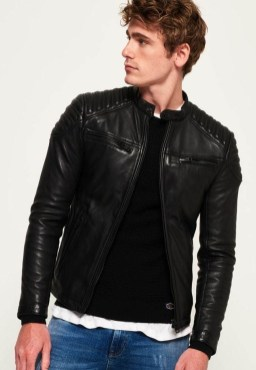 Affordable Leather Jacket Outfit Ideas25