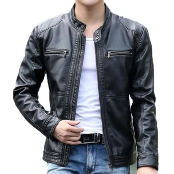 Affordable Leather Jacket Outfit Ideas36