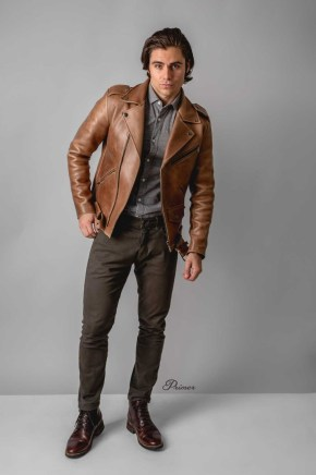 Affordable Leather Jacket Outfit Ideas39