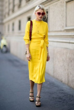 Cute Yellow Outfit Ideas For Spring15