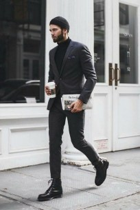 Elegant Black Outfits Ideas13