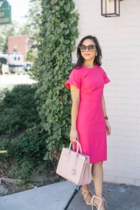 Fashionable Dress Outfit Ideas For Spring03