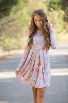 Fashionable Dress Outfit Ideas For Spring21
