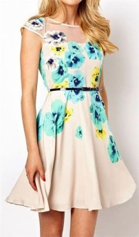 Fashionable Dress Outfit Ideas For Spring30