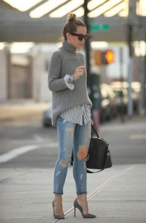 Latest Jeans Outfits Ideas For Spring12
