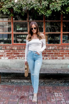 Lovely Spring Outfits Ideas With White Top15