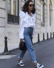 Lovely Spring Outfits Ideas With White Top21
