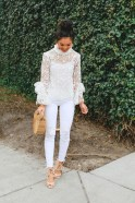 Lovely Spring Outfits Ideas With White Top34