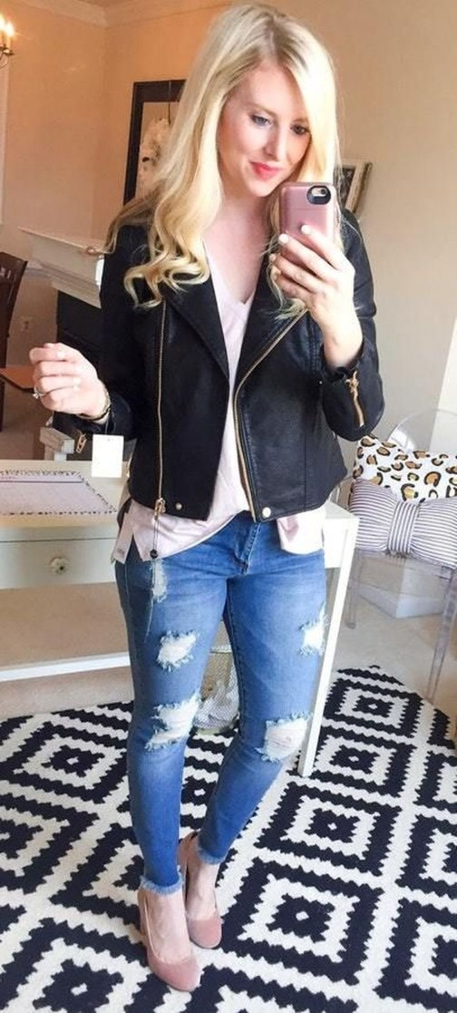 Perfect Spring Outfit Ideas36