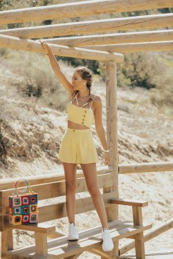 Stylish Fashion Beach Outfit Ideas26