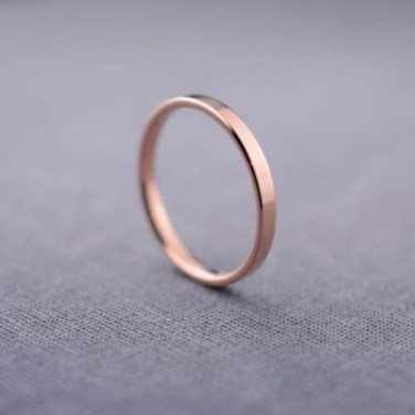 Brilliant Rose Gold Wedding Rings Ideas03