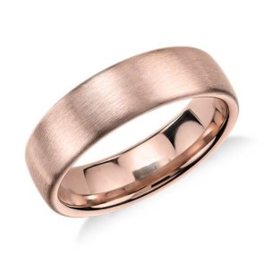 Brilliant Rose Gold Wedding Rings Ideas18