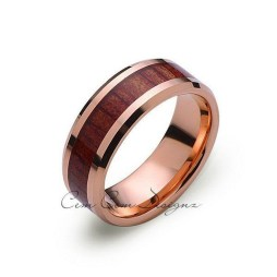 Brilliant Rose Gold Wedding Rings Ideas23