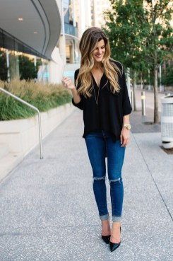 Charming Dinner Outfits Ideas For Spring35