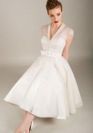 Gorgeous Tea Length Wedding Dresses Ideas31