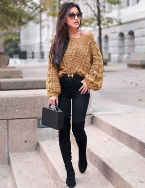 Impressive Sweater Outfits Ideas For Spring40