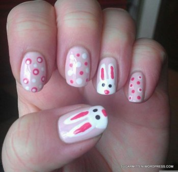 Modern Easter Nail Art Design Ideas03