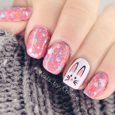 Modern Easter Nail Art Design Ideas27