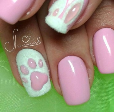 Modern Easter Nail Art Design Ideas28