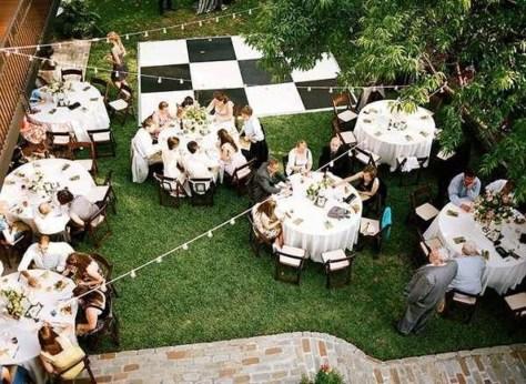 Pretty Backyard Reception Decoration Ideas07