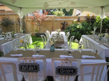 Pretty Backyard Reception Decoration Ideas20