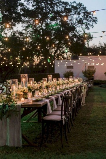 Pretty Backyard Reception Decoration Ideas22