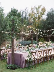 Pretty Backyard Reception Decoration Ideas34