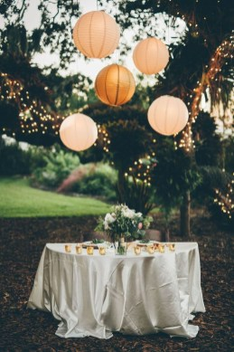 Pretty Backyard Reception Decoration Ideas39