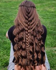 Stylish Mermaid Braid Hairstyles Ideas For Girls02