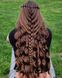 Stylish Mermaid Braid Hairstyles Ideas For Girls02