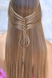 Stylish Mermaid Braid Hairstyles Ideas For Girls05