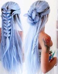 Stylish Mermaid Braid Hairstyles Ideas For Girls11