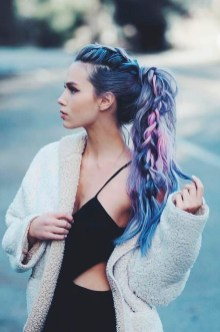 Stylish Mermaid Braid Hairstyles Ideas For Girls16