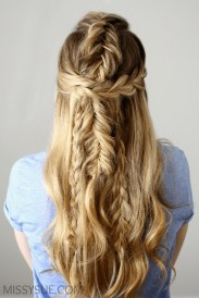 Stylish Mermaid Braid Hairstyles Ideas For Girls20