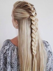 Stylish Mermaid Braid Hairstyles Ideas For Girls40