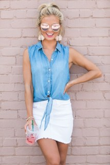Wonderful Summer Outfits Ideas For Ladies09