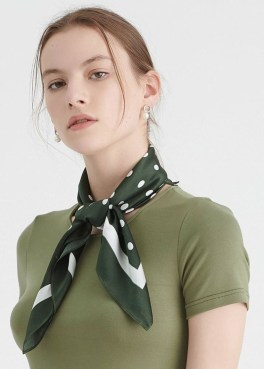 Best Ideas To Wear A Scarf Stylishly This Spring25