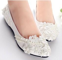 Captivating Flat Wedding Shoes Ideas04