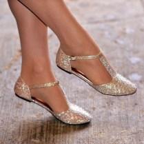 Captivating Flat Wedding Shoes Ideas08