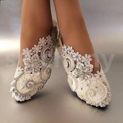 Captivating Flat Wedding Shoes Ideas09
