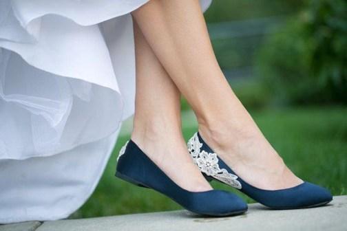 Captivating Flat Wedding Shoes Ideas14