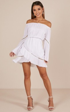 Cozy Open Shoulders Dresses Ideas For Summer06