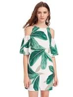 Cozy Open Shoulders Dresses Ideas For Summer09