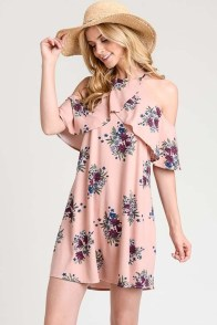 Cozy Open Shoulders Dresses Ideas For Summer14