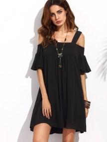 Cozy Open Shoulders Dresses Ideas For Summer19